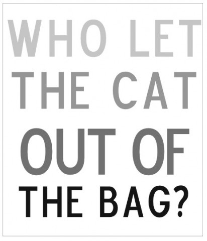 Let the cat out of the bag-Where British Phrases Came From
