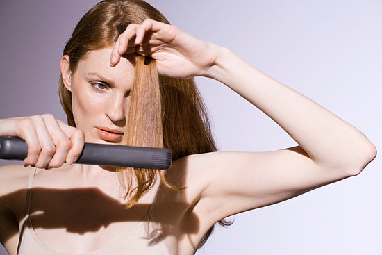 Avoid Heat Styling-Simple Home Remedies For Hair Fall