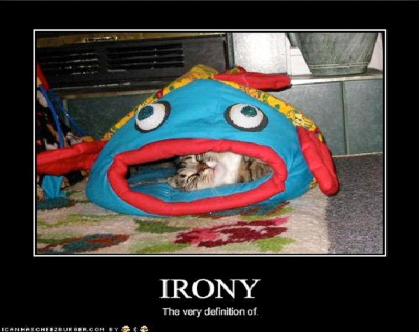 "The Fish Who Ate The Cat Who Ate The Fish-Pictures That Will Make You Say ""Oh The Irony"""