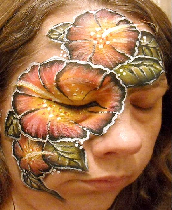 Flower Power-Most Incredible Face Paintings