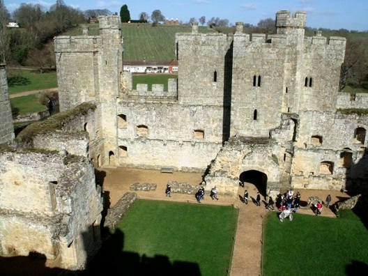 Bodiam Castle - United Kingdom-Most Beautiful Castles Around The World