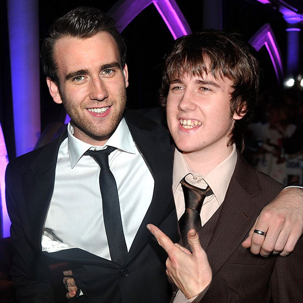 Matt Lewis-15 Celebrities Posing With Younger Versions Of Themselves