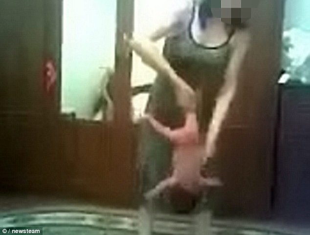 Russian Baby Yoga Picture Banned-Shocking Moments Caught On Camera