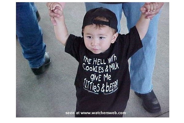 Yeah!-Funny Baby T-shirt Texts And Images