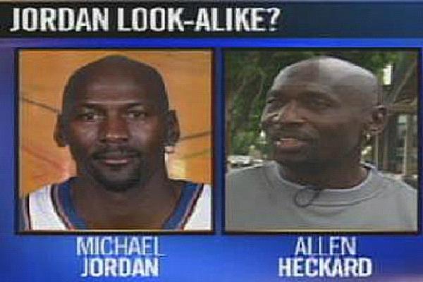 Allen Heckard Versus Michael Jordan-Most Ridiculous Lawsuits