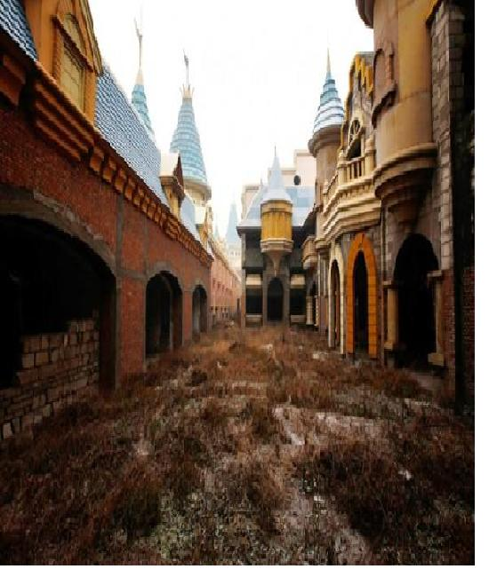 Wonderland Amusement Park-Most Abandoned Places In The World