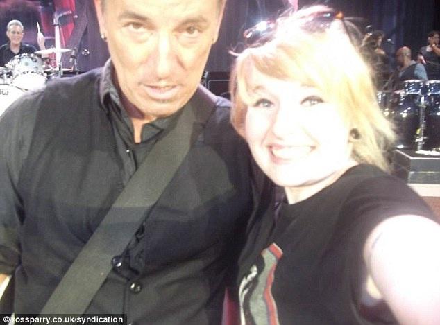 Bruce Springsteen-Rock Star Selfies