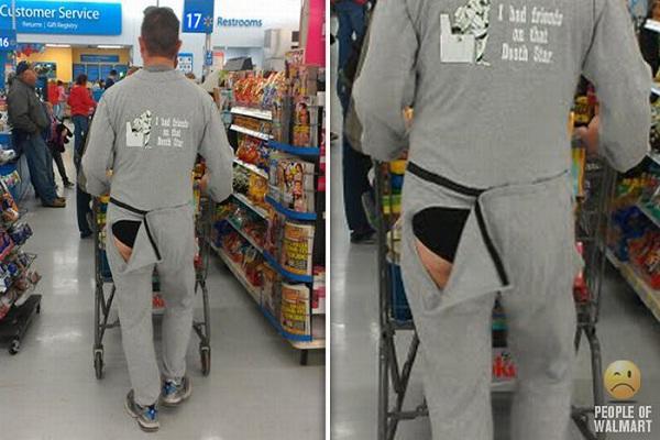 Naughty Tease-Strangest People Of Walmart