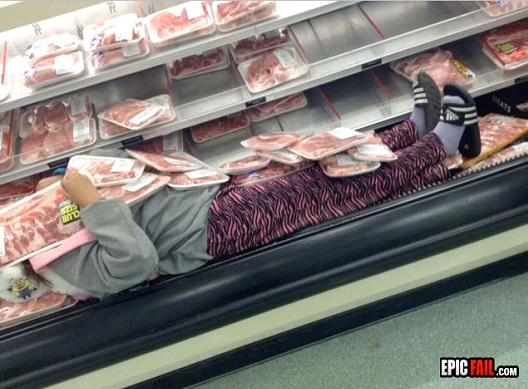 Sleeping With Your Meat-Best Supermarket Fails