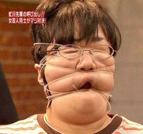 A rubber band thing going on-This Week's WTF Photos