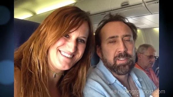 Nic Cage-Bizarre Celebrity Selfies