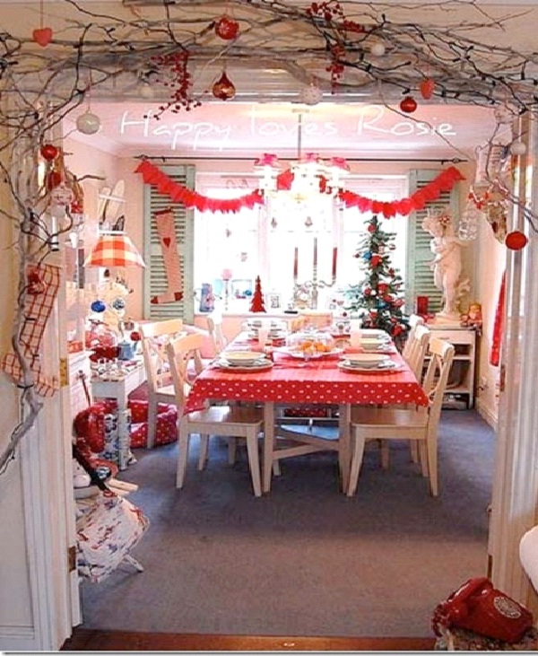 Door Branches-Christmas Decoration Ideas