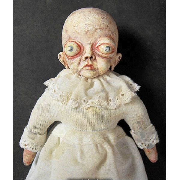 Eye Bulge-Creepiest Dolls Ever