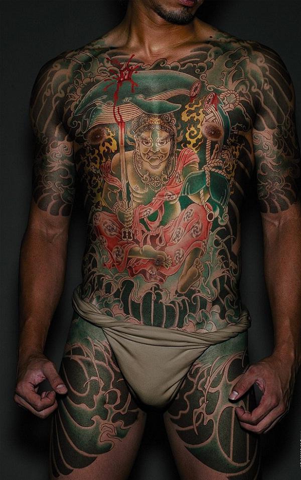 Japanese 2-Full Body Tattoos