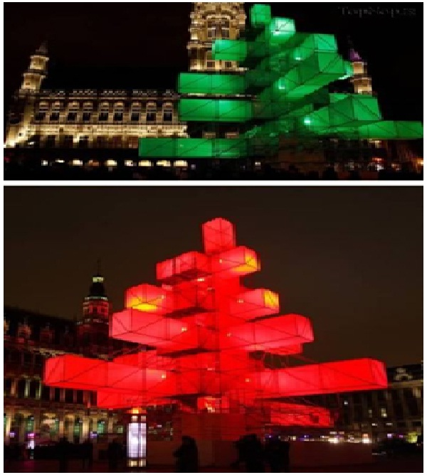 Electronic Christmas Tree-Most Amazing Christmas Trees From Around The Globe