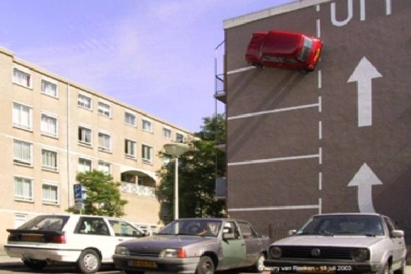 Vertical Park-Craziest Parkings Ever