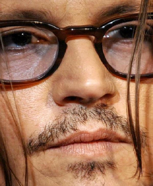 Johnny Depp-Weird Celebrity Closeups