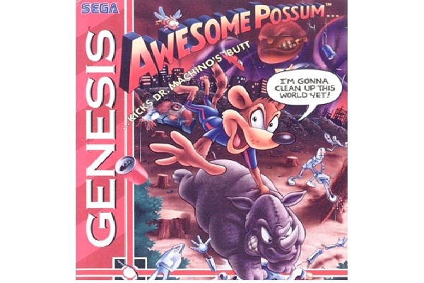 Awesome Possum Kicks Dr. Maschino's Butt-Worst Video Game Names Ever