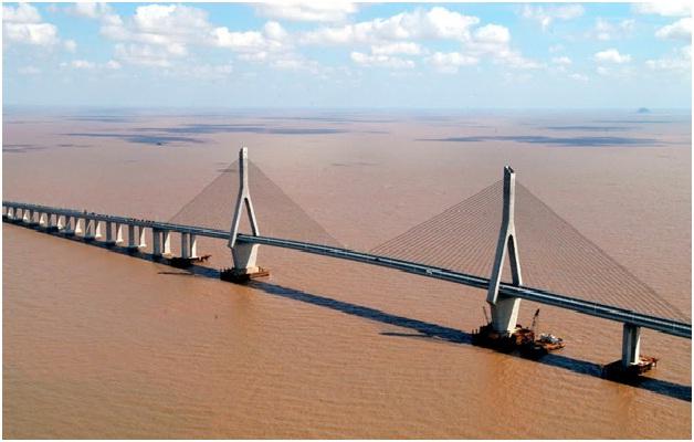 Donghai Bridge-Longest Bridges In The World