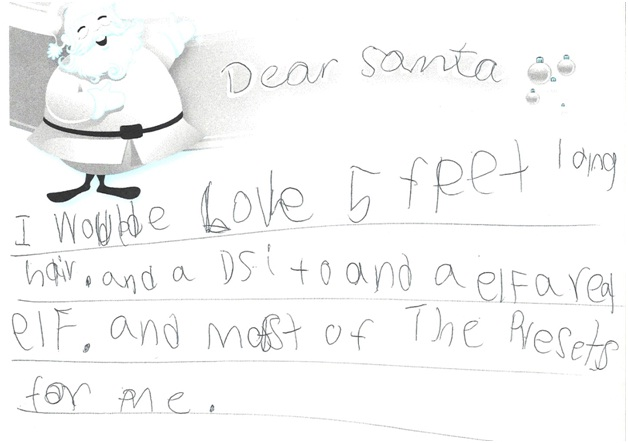 A Letter Asking For An Elf-12 Hilarious Letters Ever Written To Santa Claus