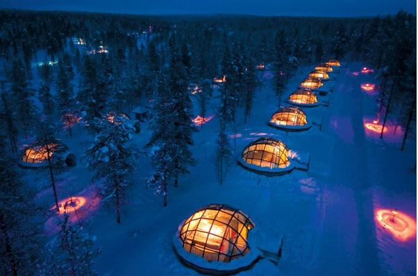 Igloo Village, Finland-Most Amazing Hotels Around The World