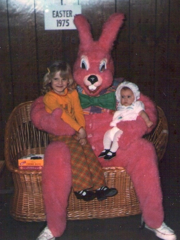 It's pink??-Not So Cute Easter Bunnies