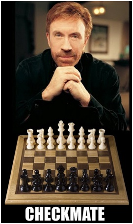 Chuck Norris Always Wins at Chess-12 Hilarious Chuck Norris Memes Ever