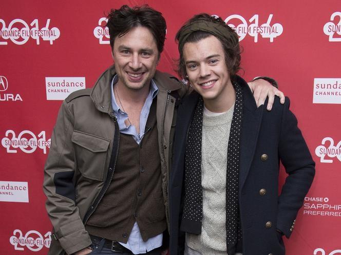 Zach Braff & Harry Styles-Unlikely Celebrity Friends