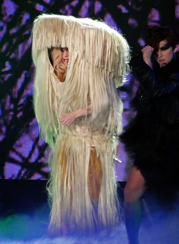 Oh look..Bigfoot-Worst Lady Gaga Outfits
