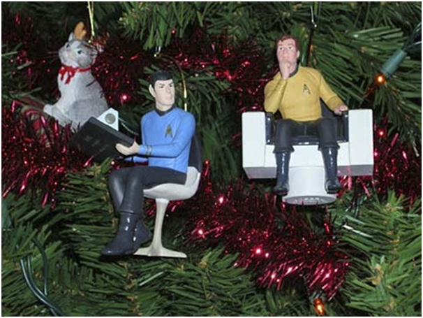 Star Trek Ornaments-Unusual And Funny Christmas Ornaments