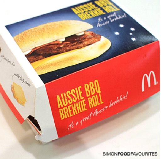 Deluxe Brekkie Roll - Found In Australia-McDonald's Items Not Available In The U.S.