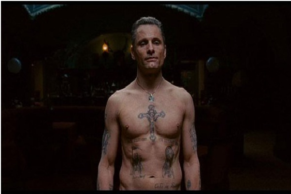 Cross on Chest-Prison Tattoos And Their Meanings