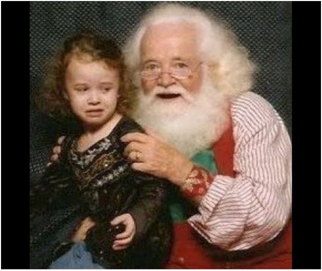 Get Away from me Santa-Hilarious Santa Claus Fails