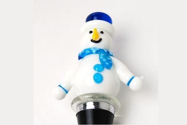 Wintry-Creative Bottle Stoppers