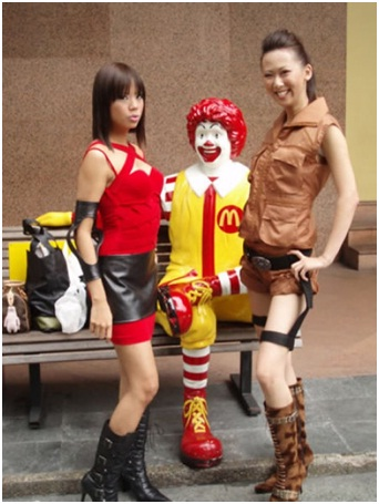 Ronald McDonald Soliciting Women-Sad Reality Of Ronald McDonald