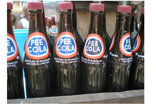 Pee Cola-Most Inappropriate Product Names