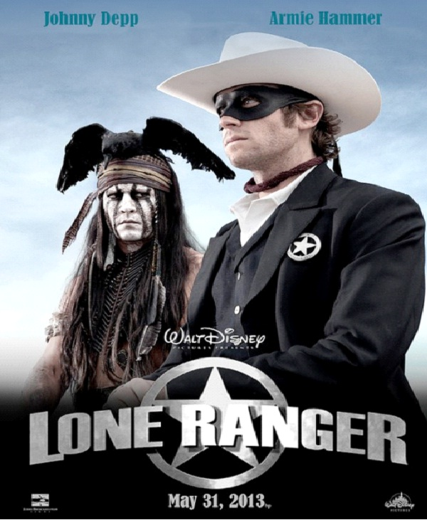 The Lone Ranger - $226-Most Expensive Films Till Now