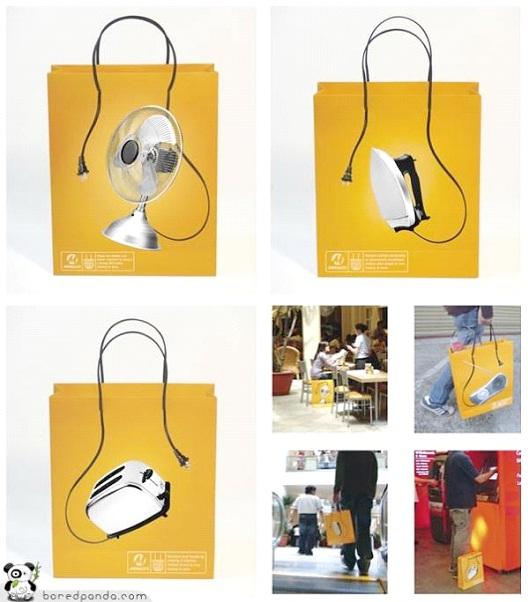 Unplug-24 Most Creative Bag Ads