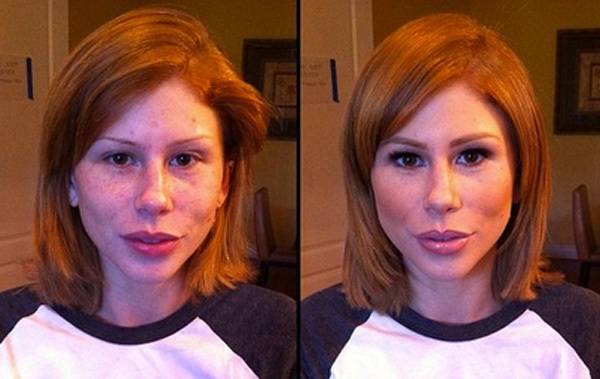 Brooklyn Lee-Pornstars With And Without Make Up