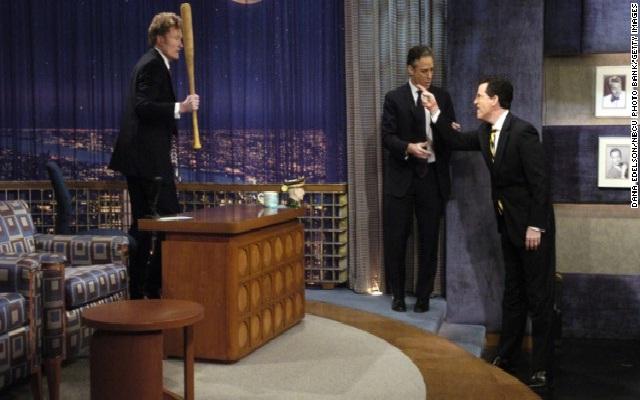 The across show brawl-Funniest Conan O'Brien Moments