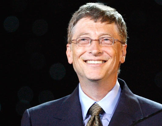 Bill Gates-Autistic People Who Got Famous