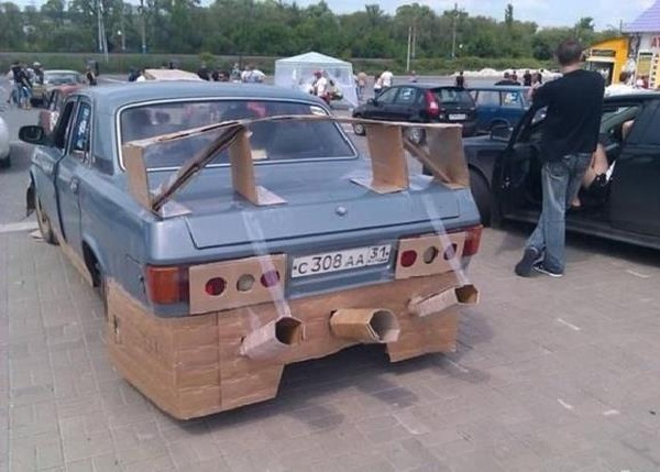 Just too much-Car Modification Fails