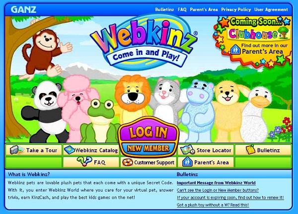 Webkinz.com-Best Educational Websites For Kids