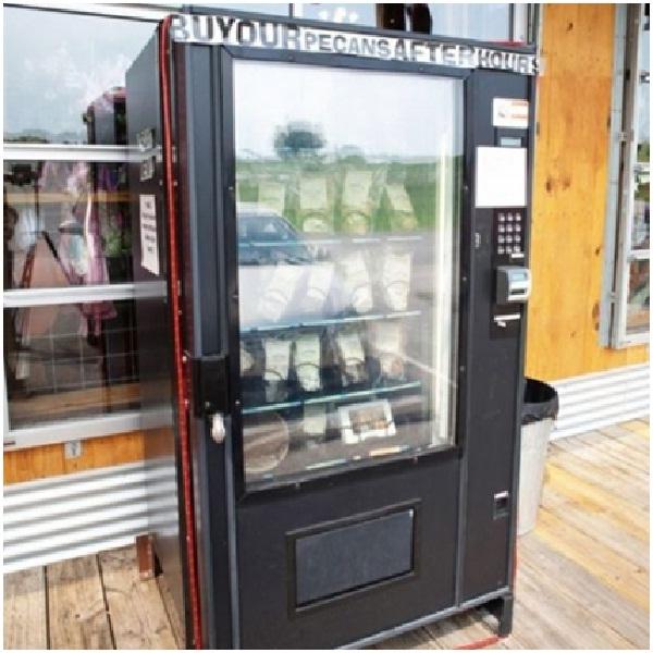 Pecan Pie Vending Machine-Weird Vending Machines