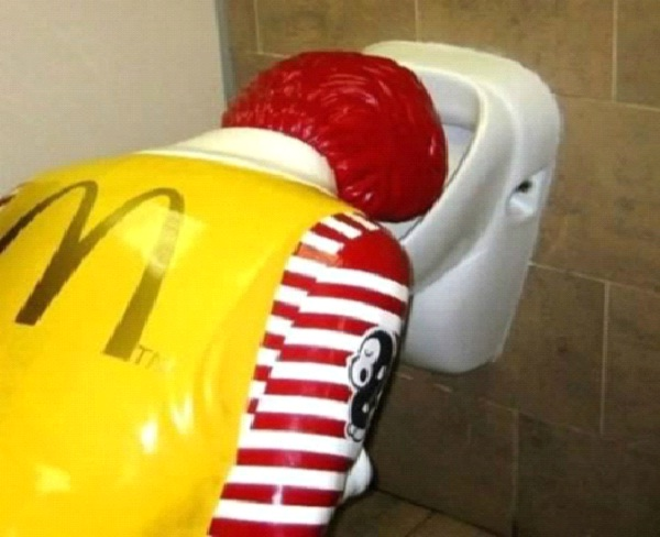 Hungover Ronald-Most Inappropriate Ronald McDonalds