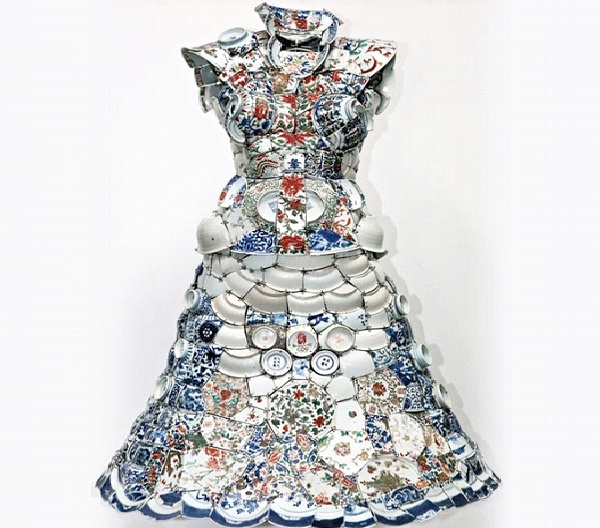 Plate Dress-Weirdest Dresses