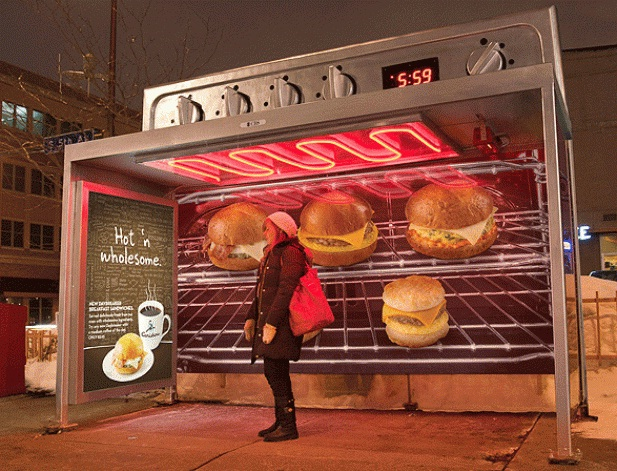 You hottie-Cool Bus Stops Around The World