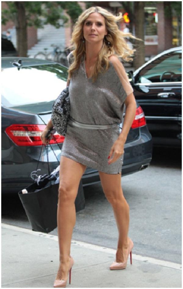 Heidi Klum's Legs-Celebrity Body Parts Insured For Millions