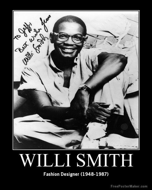 Willi Smith-Celebrities Who Died Of AIDS