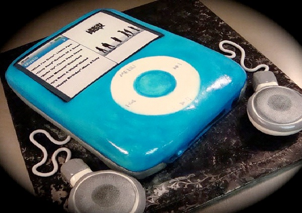 iPod-Most Geeky Cakes